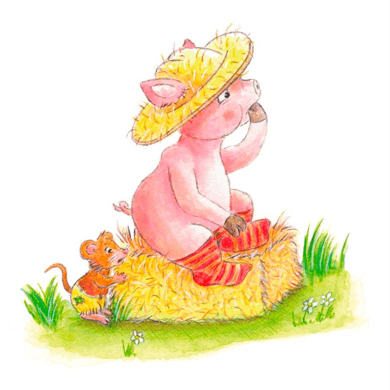 Annimalt Tiere - Anja Rommerskirchen Illustrationen
