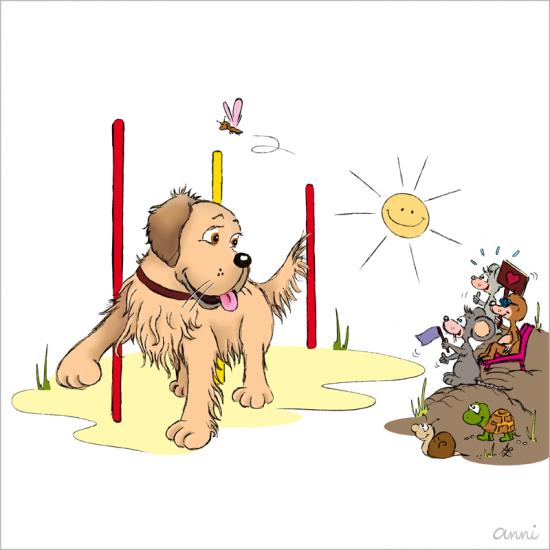 Hundeschule Sommerfest Golden Retriever Agility