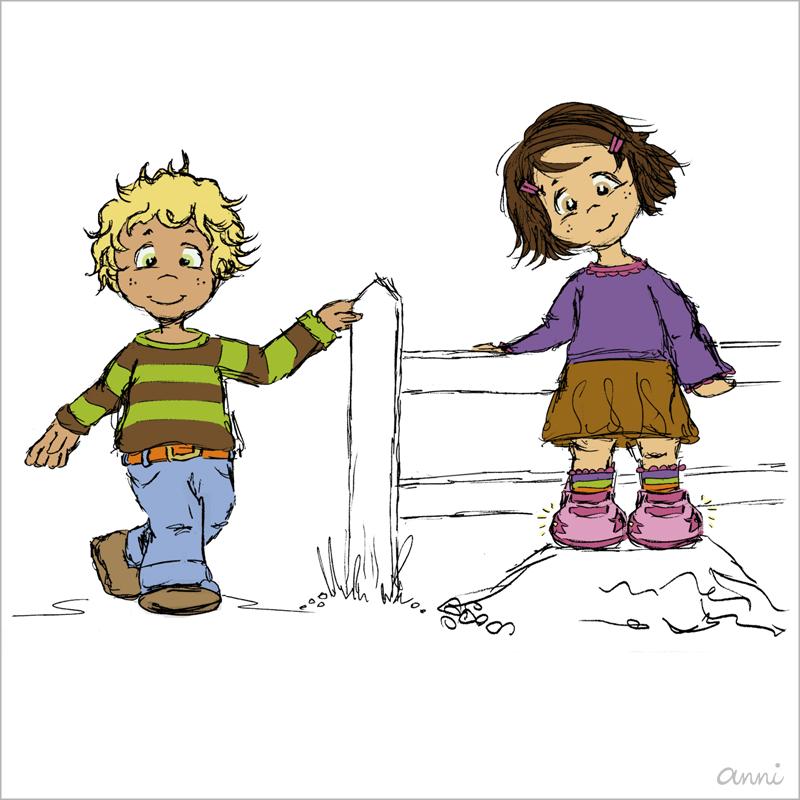 Cleos Dorf Kinder Junge Mädel