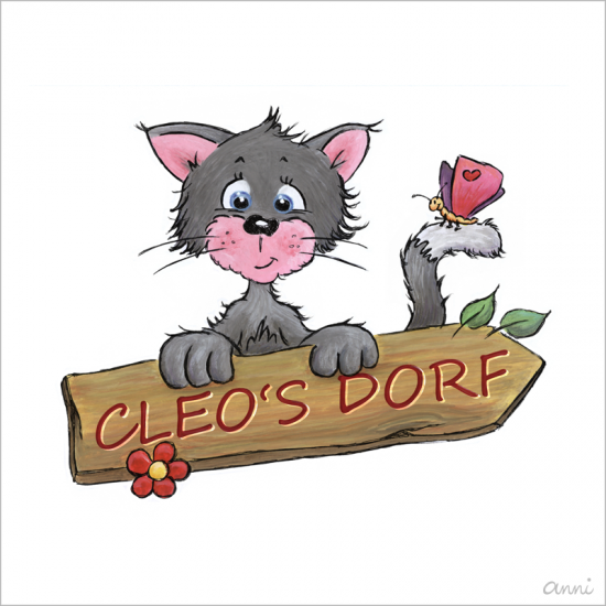 Cleos Dorf Katze