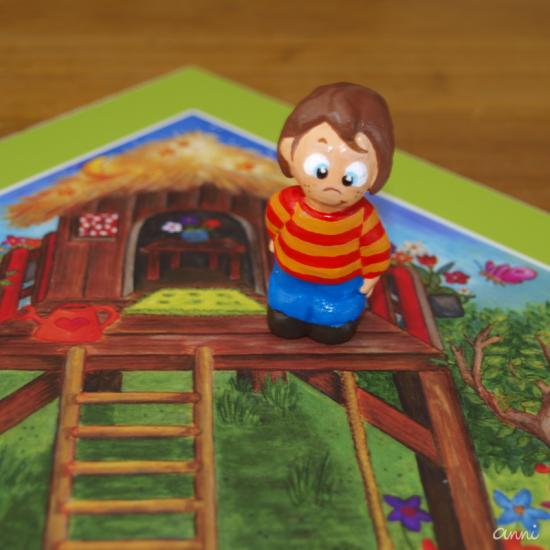 Cleos Dorf Spielfigur Spielplan Junge