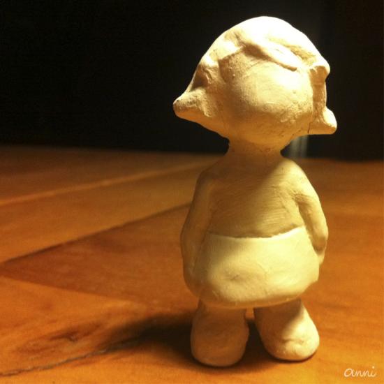 Cleos Dorf Spielfigur Mädel