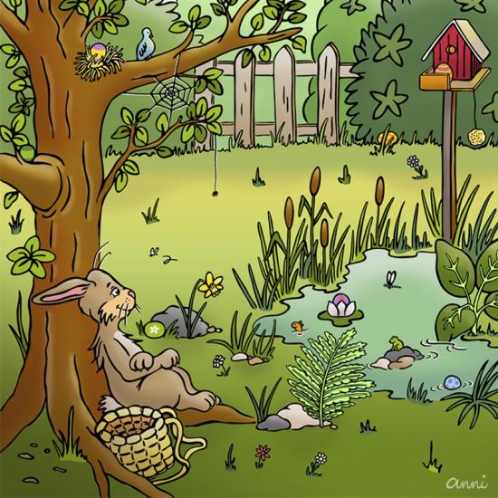 Ostern Frühling Ostereier Osterhase