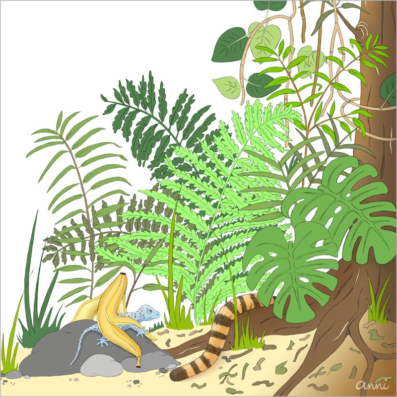 Kinderbuch Tiger Theo Gestrüpp