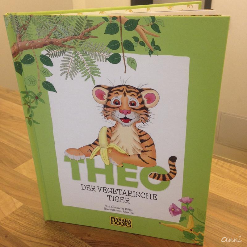Kinderbuch Tiger Theo Vegetarisch