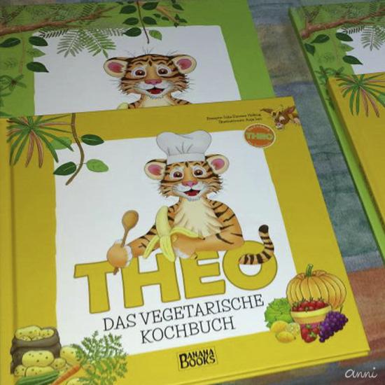 Kinderbuch Kochbuch Theo Tiger Vegetarisch