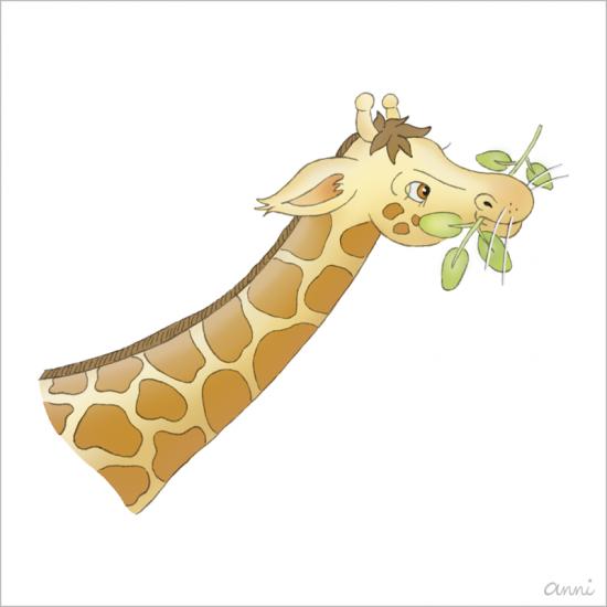 Arche Noah Giraffe Fressen