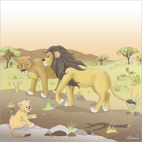 Arche Noah Löwen